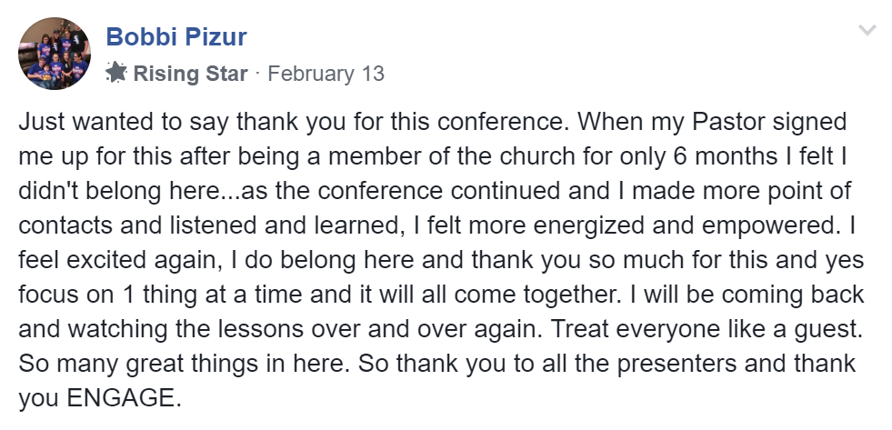 ENGAGE Conference | The Free Church Tech Conference | February 4-12, 2020